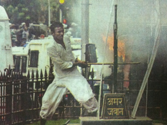Image result for why did muslims gather at aazad maidan